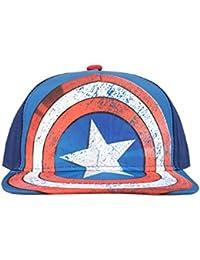 Marvel Boys Captain America Baseball Cap One Size