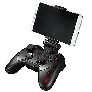 GOZAR Pxn-9606 Bluetooth 4,0 Wiederaufladbares Gamepad Mit Mobiltelefon Clip Android Mapping Activator