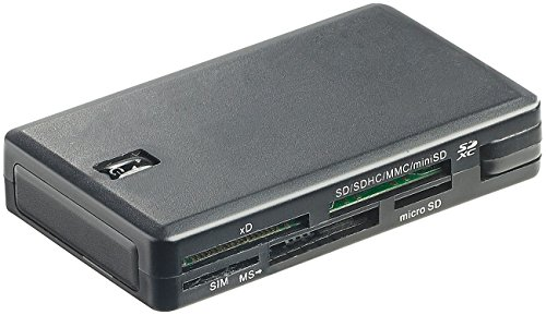 Xystec Kartenlesegerät: Smart-, SIM- und Multi-Card-Reader mit 7 Slots, USB 2.0, Plug & Play (Multi Card Reader mit SIM und Smartcard Reader) (Smart Chip-lesegerät)