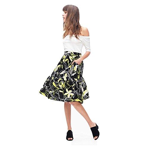 Splendid-Falda-tropical-para-mujer-Floral-Mulitcoloured-grande