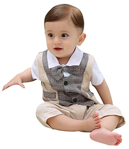 zoerea 1pc kinder baby kleinkind junge kleidung spielanzug bodysuit kleidung gentleman. Black Bedroom Furniture Sets. Home Design Ideas