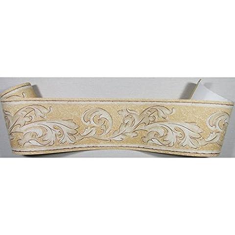Tapeten Bordüre Borte barock braun beige