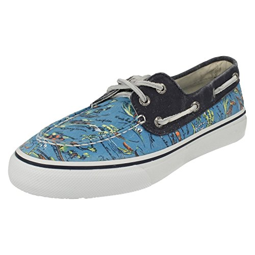 Sperry Top Sider Bahama 2 Eye Hawaii Herren Deckschuhe-Blue-40.5