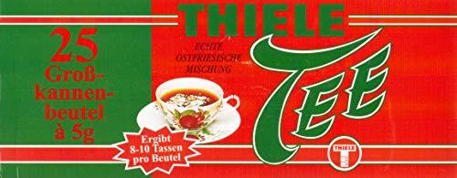 Thiele Tee Echte ostfriesische Mischung Großkannenbeutel
