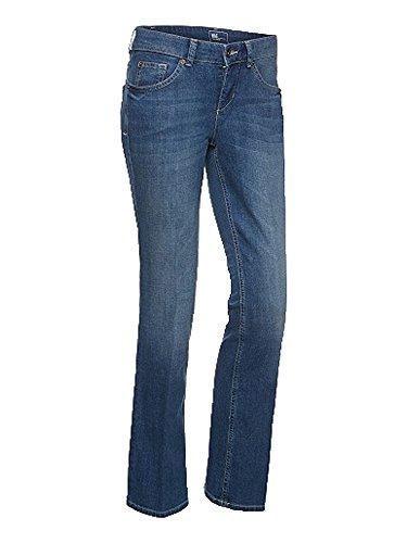 MAC Carrie Flared Jeans Blue Used Damen D546 W38 L32 (Jeans Flared Denim Blue)