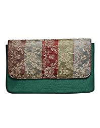 Anekaant Clutch (Green) (ADB3421A)