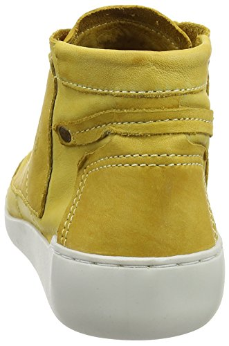 FLY London Tims241, Sneakers Hautes Femme Jaune (Yellow 009)