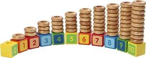 Voila - Juego de apilar Bloques, diseño de números