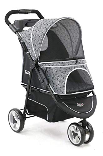 InnoPet ® Modell Allure - Design: Onyx - IPS-034/OX Hundebuggy Pet Stroller -