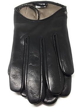 Roeckl Damen Handschuhe schwarz Haarschafleder Innenfutter Seide Größe 8