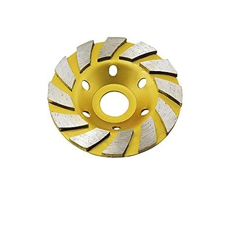 ycnk 10,2cm béton Turbo Diamant pour meule
