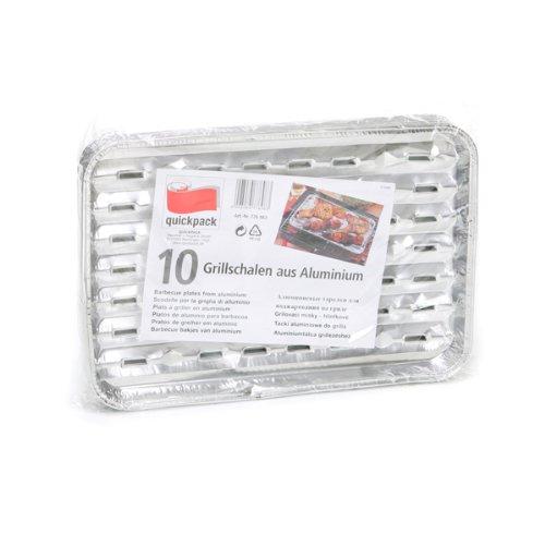 Grillschalen aus Aluminium