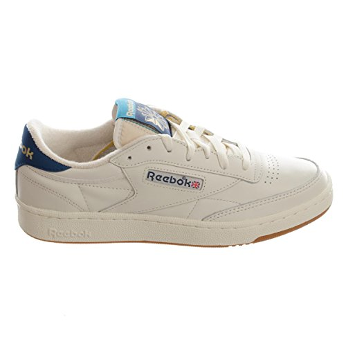 Reebok Club C 85 Retro Gum unisex adulto, pelle liscia, sneaker bassa, 38.5 EU