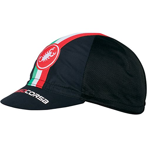 Castelli - Cap Performance Cycling, color negro