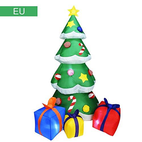 Gemmy Inflatables - SNIIA 2,1 m hoher aufblasbarer Weihnachtsbaum,