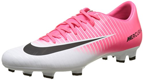 Nike Mercurial Victory VI, Chaussures de Football Entrainement Homme, Rose (Racer Pink/Black-White-White), 43 EU
