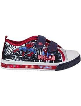 Spiderman 2200-2444 Jungen Sneaker, Canvas, mehrfarbig