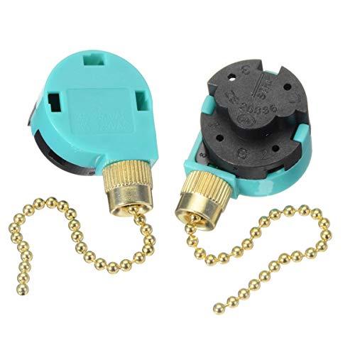 Zing Ear ZE-268S6, confezione da 2 pezzi di ricambio per ventilatori da soffitto