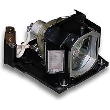Alda PQ Original, Lámpara de proyector para HITACHI CP-X3020 Proyectores, lámpara de marca con PRO-G6s viviendas