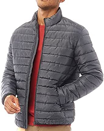 JACK IN THE BAG Men's Padded Jacket Coat for all Weathers Easy Pack Away, Men's Jacket M