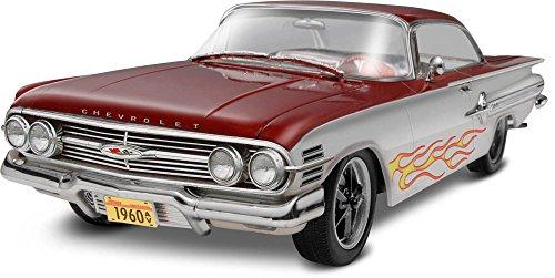 revell-monogram-1-25-escala-1960-chevy-impala-alfombrilla-2-n1-coche-multicolor