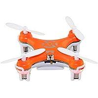 CX-10 Mini Remote Control Quadcopter elicottero 4 canali 6 Axis Gyro Aircraft Aereo Aereo Model Toys Arancione