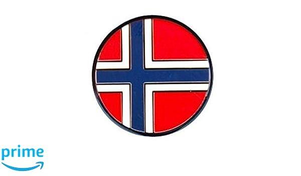 mehrfarbig GROUNDSPEAK Country Micro Geocoin Norwegen Norway 100036