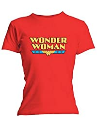 Wonder Woman - Urban Species Red Logo T-Shirt