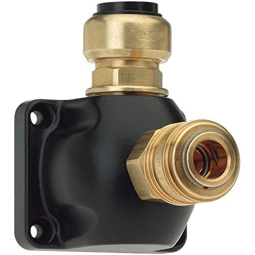Durchmesser-leitung (Schneider Druckluft Rohrleitungsdose Vormontiert Leitungs-Durchmesser 15mm)
