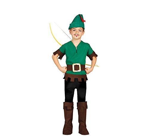 Jäger Kostüm Junge - Bogenschütze - Kostüm für Kinder Gr.