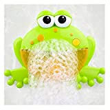 Best Lovely Baby Portable Showers - Kingko ® Bubble Machine for Kids, Portable Frog Review