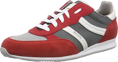 Boss Orange Oryl 10189802 01, Baskets Basses Homme Rouge (medium Red 610)