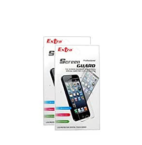 Extra Clear Screen Protector for Micromax Bolt A62 (Pack of 2)