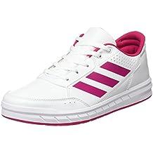 adidas Altasport K Zapatillas, Niñas, Blanco / Rosa, 36