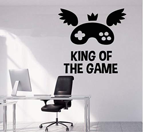 yangyueyue König der GameWall Decals Spiel Wohnkultur Wandaufkleber Für Baby Kinder Schlafzimmer Wohnzimmer Dekoration Wandbilder Tapete57 * 57 cm -