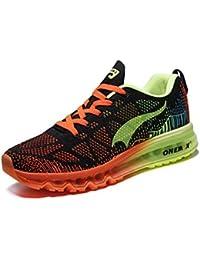onemix Paar Sportschuhe Männer und Frauen Schuhe Turnschuhe Kissen Laufschuhe leichte atmungsaktive Polsterung Frühling und Sommer