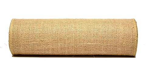 Laribbons Natural Jute Ruban Tissu Pour Home/Party/Décorations - 10 Yard/Roll (20 Pouces/50cm)