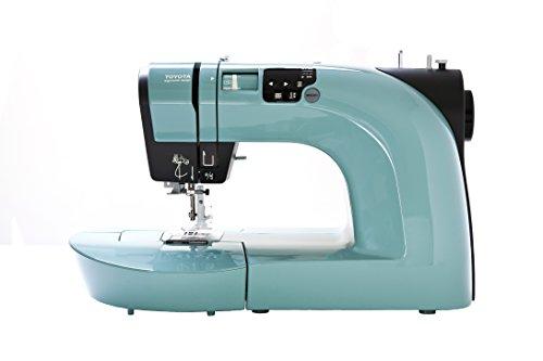 Toyota Oekaki50G - Máquina de coser (50 programas, función de bordado libre), color verde