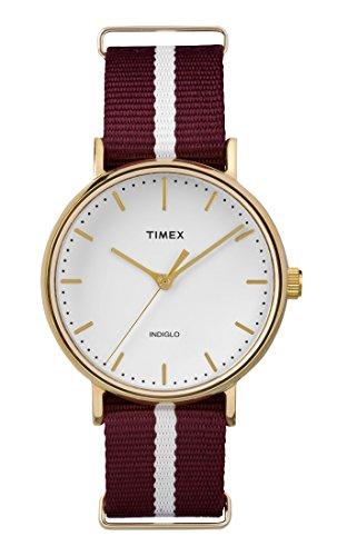 Damen-uhr Rot Timex (Timex Damen-Armbanduhr TW2P98100)