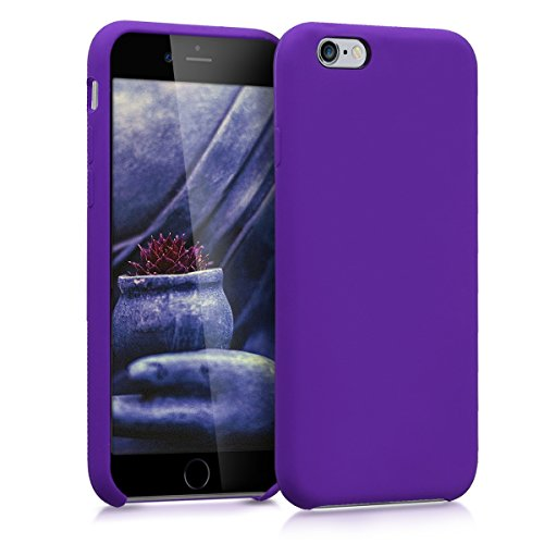 kwmobile Apple iPhone 6 / 6S Hülle - Handyhülle für Apple iPhone 6 / 6S - Handy Case in Violett