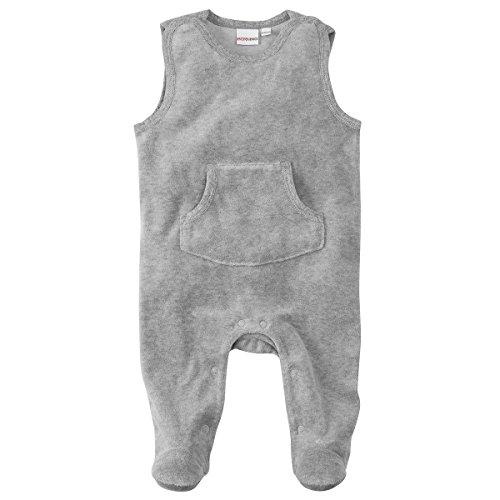 Bornino Basics Strampler/Einteiler - mit Druckknöpfen, Farbe: Marine blau, Nicki, Öko-Tex Zertifiziert- Baby Bekleidung für Mädchen/Jungen -