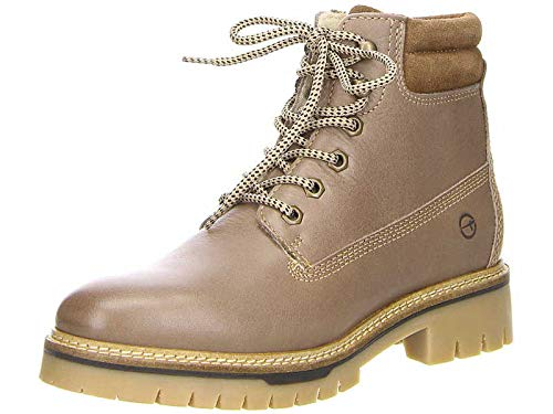 RV Echtleder  25301  NEU Boots Stiefel Jana Damen Stiefelette beige