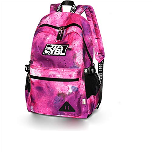 Schulrucksack, Unisex Mode Lässig Schule Rucksack Tasche Reise Laptop Rucksack Rucksack Tablet Tasche,2