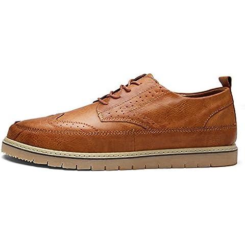 Scarpe uomo casual/Vintage intagliato traspirante moda uomo/Scarpe