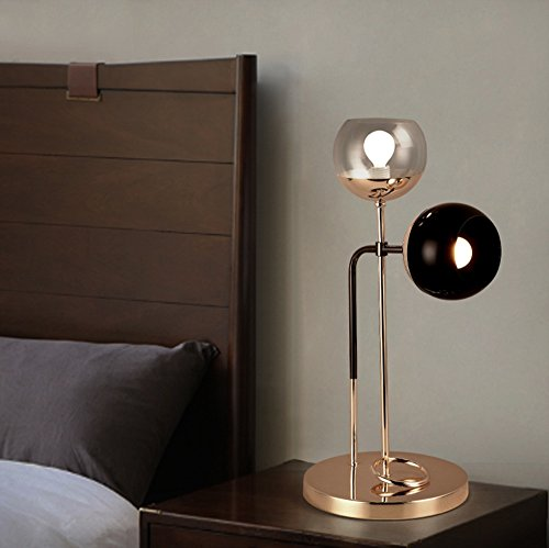Économie d'énergie Protection des yeux - lampe en verre de façon créative lampe post-moderne salon de chevet de la chambre de la personnalité minimaliste - (Ne pas inclure la source lumineuse)