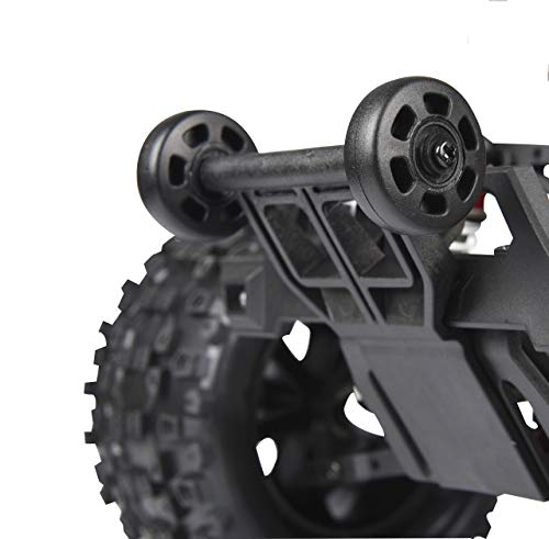 Jamara 506088 Wheelybar Tiger-Shiro-Myron-Akron-Veloce Dual Wheel, schwarz