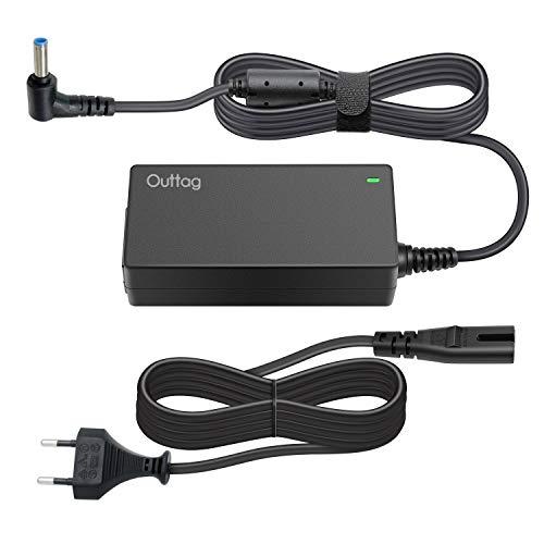 Outtag 45w Laptop Netzteil Ladegerät 19.5V/2.31A AC Adapter Ersatz für HP Stream 11 13 14 Probook 430 G5 G3 G4 450 G5 Ultrabook X2 13t-3000 13t-h200 Pavilion X2 11-h000 13-p110nr Stecker 4.5mm*3.0mm -