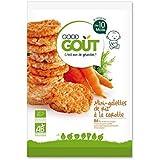 Good gout mini galettes riz carotte 40g - ( Prix Unitaire ) - Envoi Rapide Et Soignée
