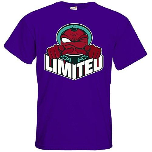 getshirts - Rocket Beans TV Official Merchandising - T-Shirt - Team Limited Logo Purple