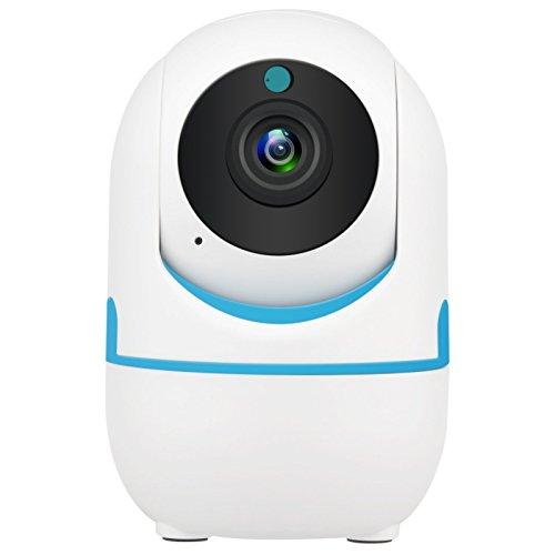 DEFEWAY 1080P Wireless IP Baby Kamera, Indoor WiFi IP überwachungskamera für Baby/Elder/ Haustier/Babysitter Moniter, Pan/Tilt/Zoom, Zwei-Wege Audio mit Motion Alerts E1W